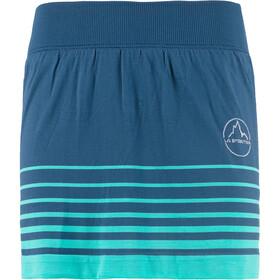 La Sportiva Xplosive - Pantalones cortos running Mujer - azul/Turquesa